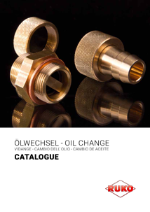 RUKO Oil change catalogue English