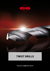 RUKO Twist drills English
