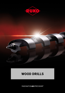 RUKO Wood drills English