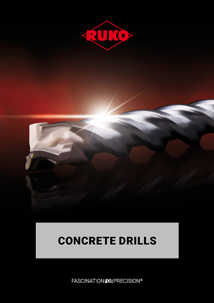 RUKO Concrete drills English