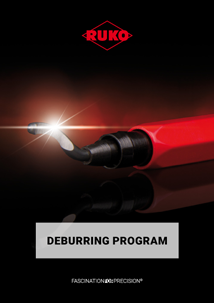 RUKO Deburring program English