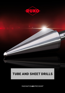 RUKO Tube and sheet drills English