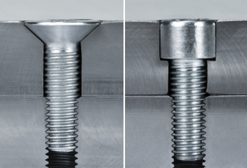 How to countersink a screw