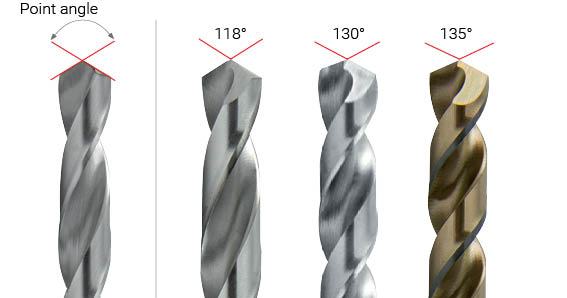 Image result for drill bit angle