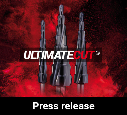 RUKO develops world first: ULTIMATECUT step drill with 10 mm step length